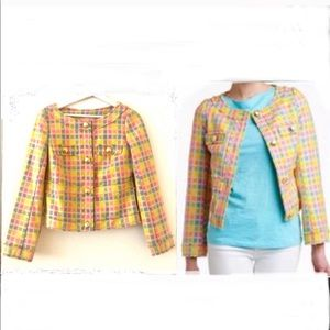 LP Give Me Wings Cropped Boucle Millie Jacket